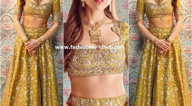Sara Ali khan in Jayanthi reddy Label!