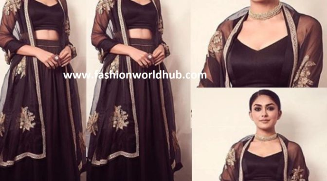 Mrunal Thakur in Raw Mango