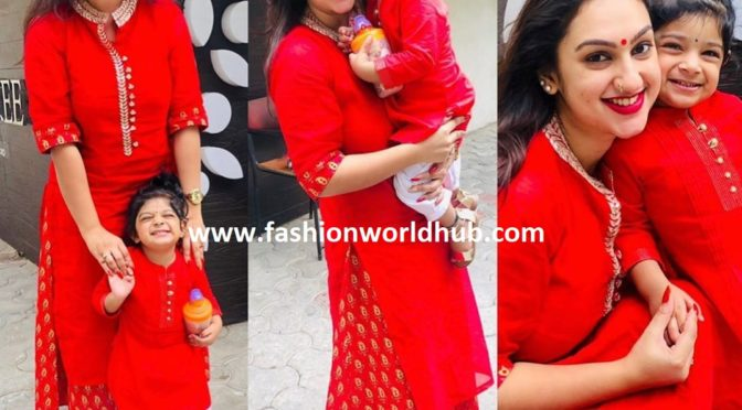 Preetha Hari and Rupika in Red!