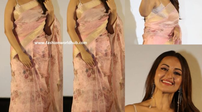 Sonakshi Sinha at the Trailer launch of Mission Mangal!
