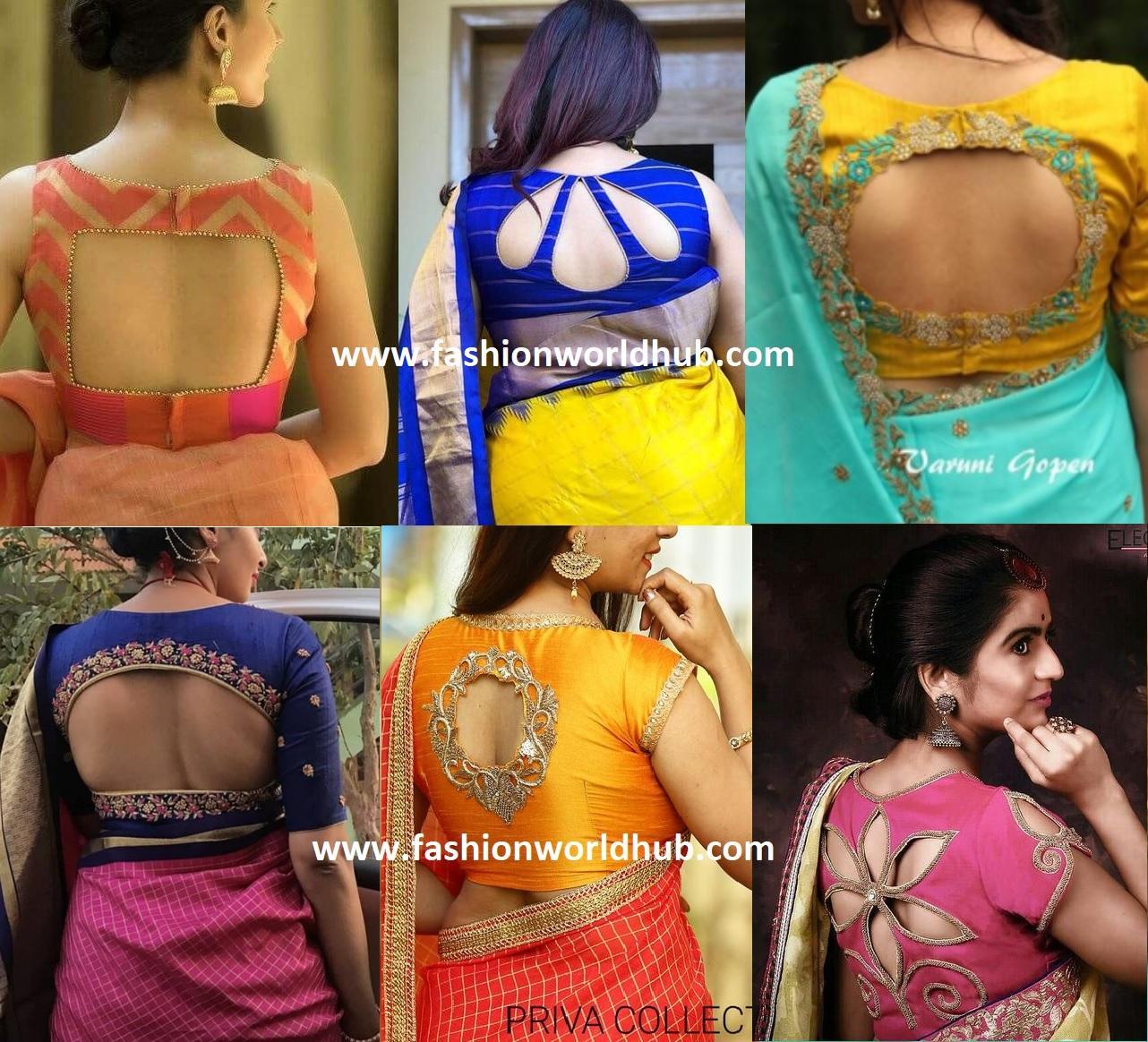 Saree Blouse Design Hot