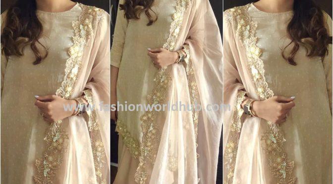 Mira Kapoor in Weave india!