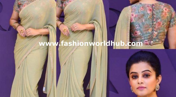 Priya Mani in Veena Raaj Couture!