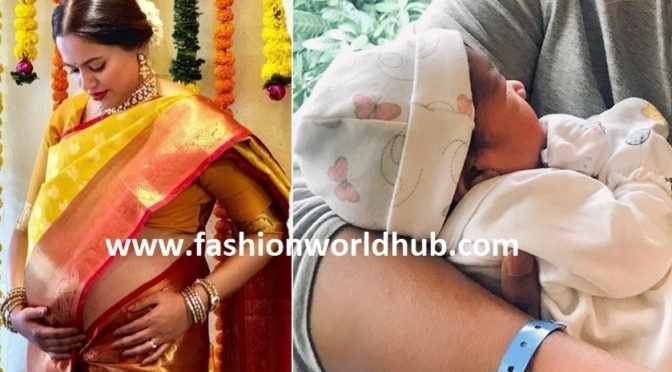 Congratulations Actress Sameera reddy on the arrival of her second child!