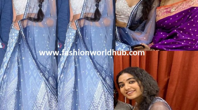 Shivathmika at Dorasani pre release event!