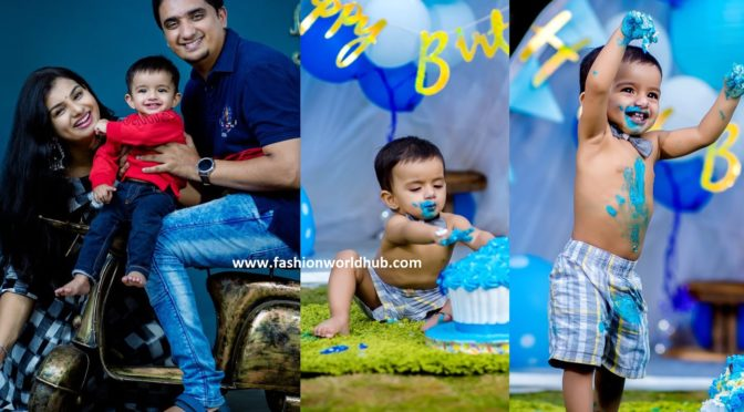 Singer Krishna chaitanya Son Shreyansh Karthikeya First birthday photos!
