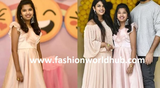 Sreeja Kalyan daughter Nivrithi 11th birthday photos!