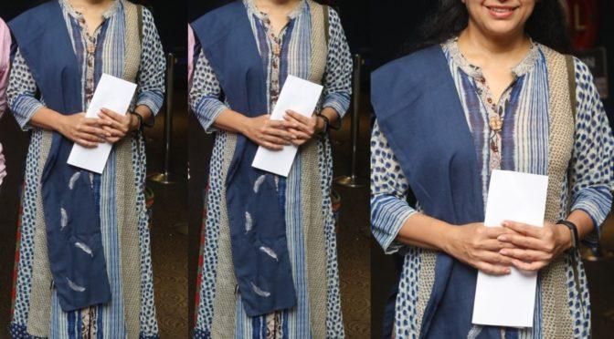 Suhasini Maniratnam's ethnic look!