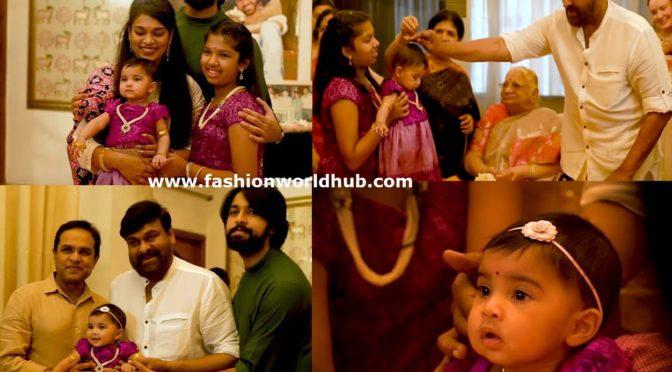 Sreeja Kalyan's daughter Navishka's Annaprasanna