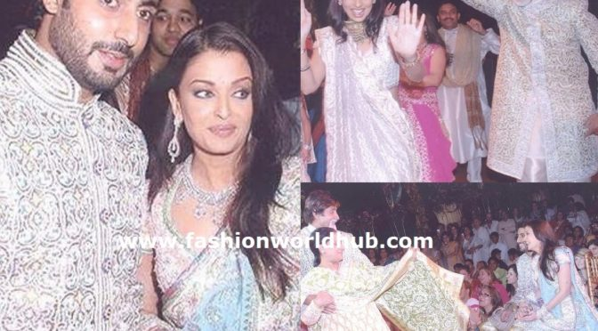 Unseen pictures of Abhishek and Aishwarya wedding!