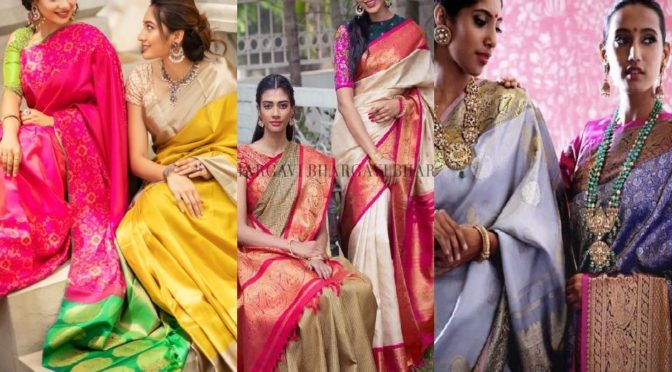 South Indian Designers who brought freshness to Kanjeevaram sarees!