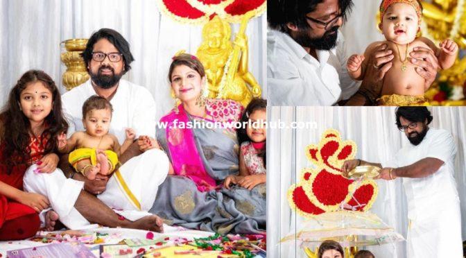 Actress Rambha Krishna Ashtami celebration photos