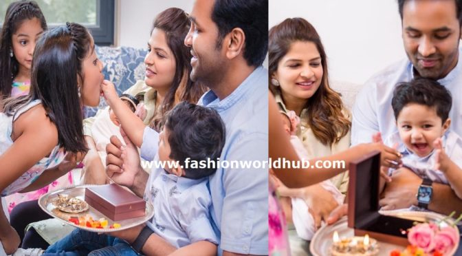 Manchu vishnu family Rakhi celebration photos!