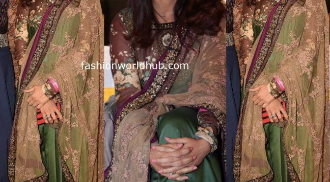 Genelia D'Souza in green Anarkali!