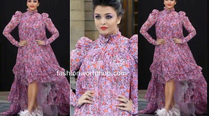 Aishwarya Rai Bachchan at the Paris Fashion Week