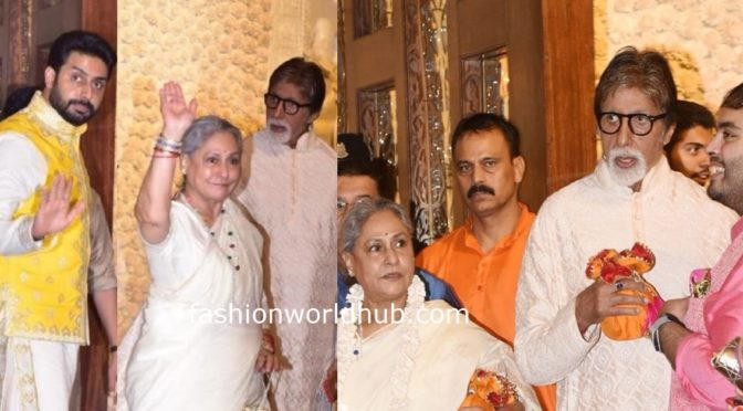 Bachan's family at Amabanis Ganesh Chaturthi celebrations !