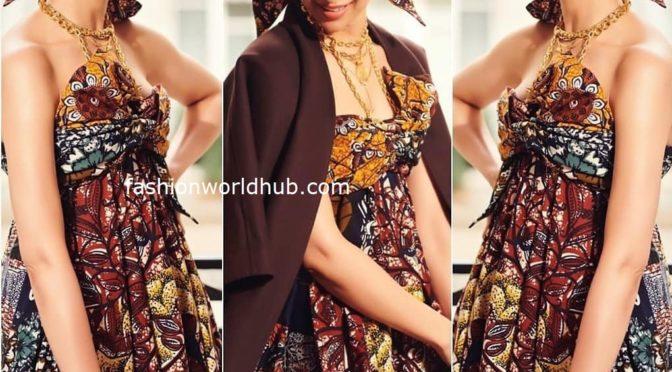 Deepika Padukone in Dior at Paris Fashion week!
