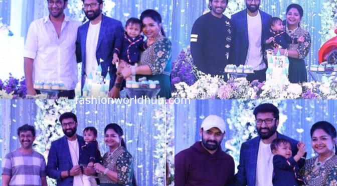 Gopichand younger son Viyaan's First birthday photos!