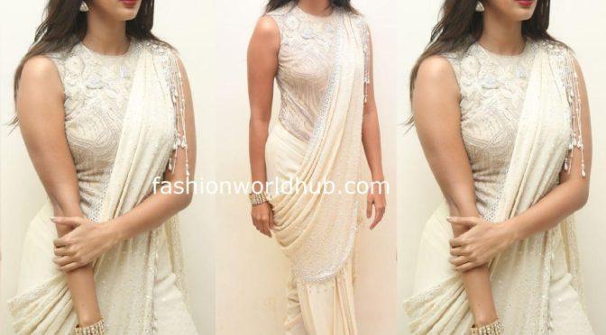 Pooja Hegde at Valmiki pre-release event