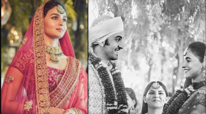 Ranbir Kapoor-Alia Bhatt's photoshopped wedding Pics went Viral!