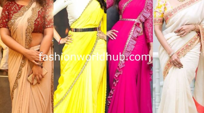 Revamp your plain saree with designer border!