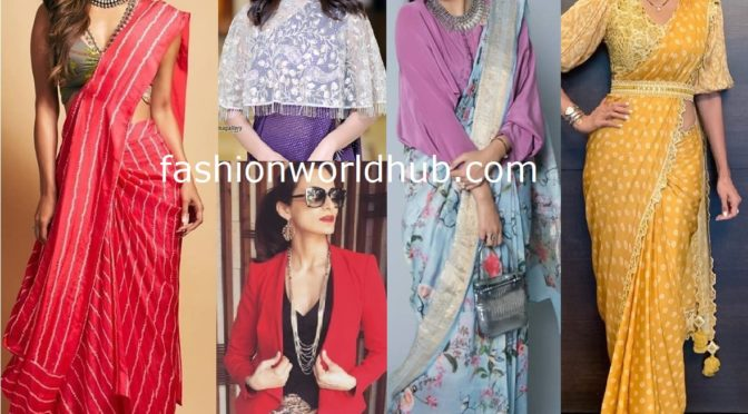 Style your Saree's in 10 Fabulous way!