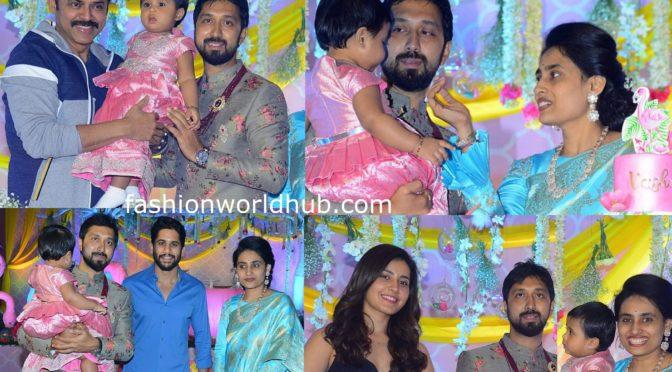 Director Bobby's Daughter Vaishu Birthday Celebrations