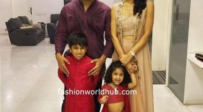 Diwali 2019: Allu Arjun's family in traditional wear