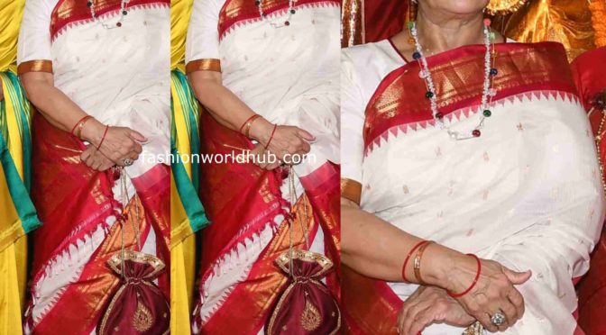 Jaya Bachchan's Festive Look!