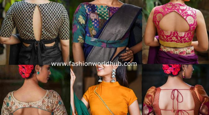 Bright & Beautiful Ready made Blouse Designs by House of blouse!