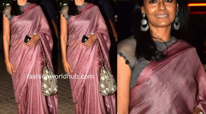 Nandita Das's at The sky pink movie screening