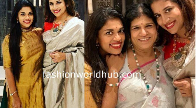 Surekha, Sreeja and Sushmita in Traditional look!