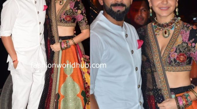 Anushka Sharma and Virat at Anil kapoor Diwali party bash!