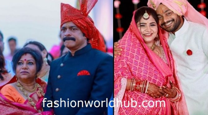 Actor Bramhaji Son Sanjay's Wedding photos!
