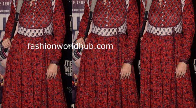 Isha talwar in Printed Maxi dress!
