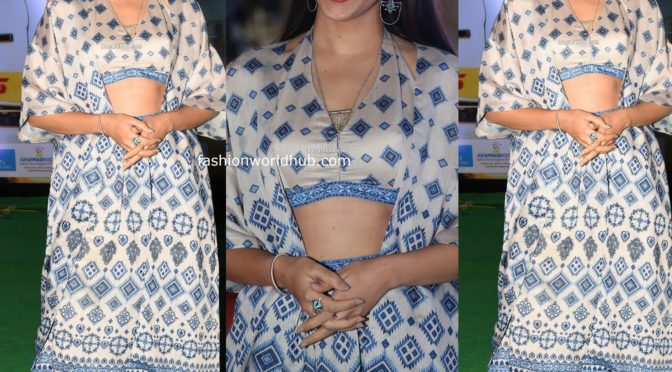 Lavanya Tripati at Pre release Event of Arjun Suravaram