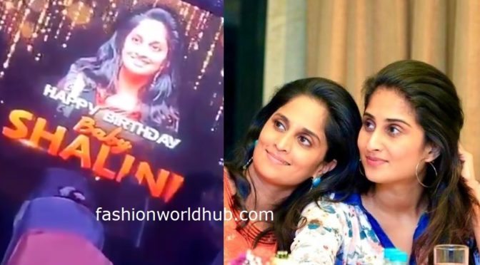 Shalini Ajith birthday Celebration photos!