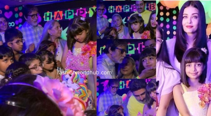 Aaradhya Bachchan 8th birthday Celebrations photos!
