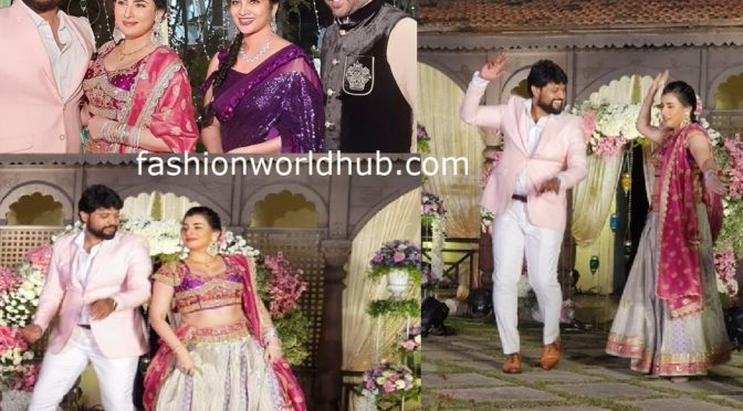 Archana Sastry and Jagadeesh Sangeet photos!