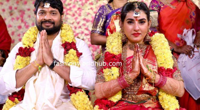 Archana Shastry and Jagadeesh Wedding Photos