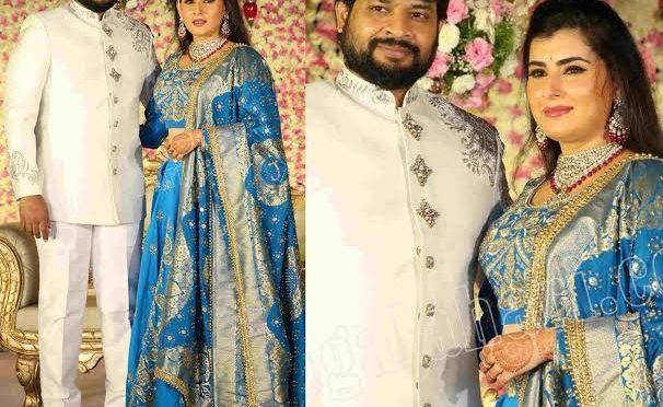 Archana Shastry and Jagadeesh's Wedding Reception