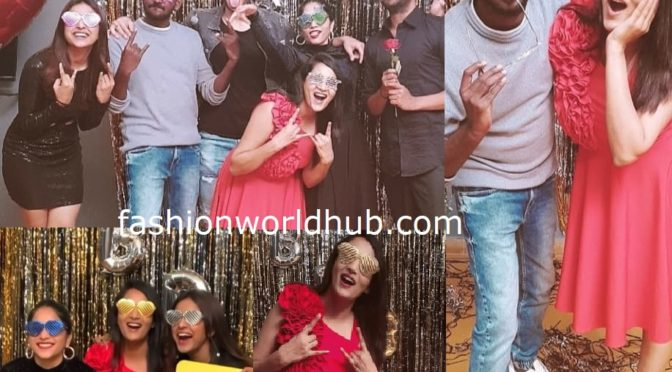Bigg boss 3 Contestants re union party photos