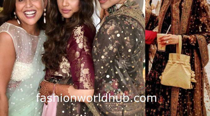 Deepika Padukone at her friend's wedding in Bangalore