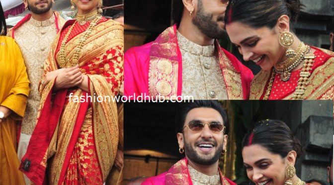 Deepika and Ranveer visit Tirupati on their 1st Marriage Anniversary