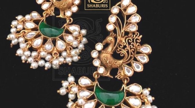 Unique and beautiful ear ring collections from Shaburis!