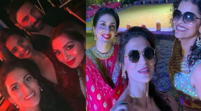 Keerthi Reddy and Sumanth Spotted at Shilpa Reddy Family Wedding!