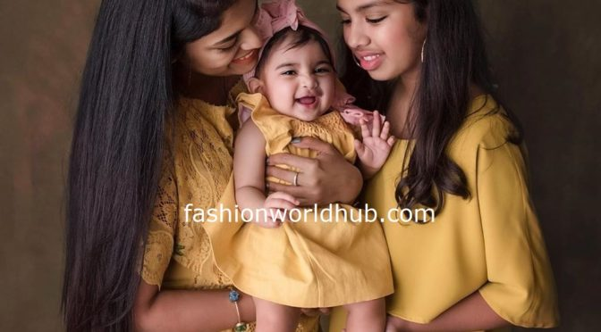 Picture perfect – Sreeja with her kids!
