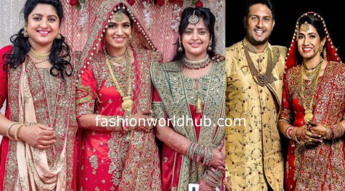 Actress Sana's Son Syed Anwar Ahmed Wedding Pics