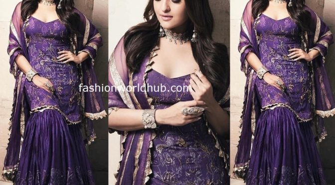 Sonakshi sinha in Itrh for Dabangg 3 promotions!