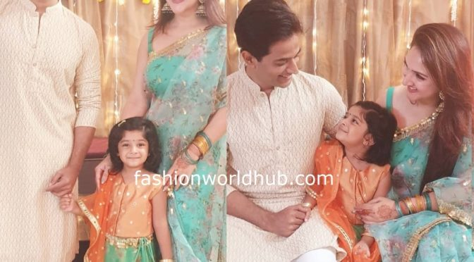 Sridevi Vijaykumar family in Traditional outfit!